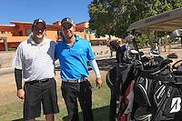 torneo de GOLF  de la Fundación de Sylvana Beltrones.<br /> <br /> éctor pesqueira (blanco)  y Mario Robinson .(azul)<br /> <br /> **Photo®©:LuisGutierrez/NortePhoto