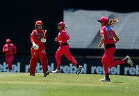 2nd November 2019; Western Australia Cricket Association Ground, Perth, Western Australia, Australia; Womens Big Bash League Cricket, Melbourne Renegades versus Sydney Sixers; Tammy Beaumont of the Melbourne Renegades walks off after being dismissed - Editorial Use