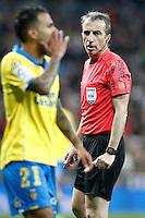 Spanish referee David Fernandez Borbalan during La Liga match. March 1,2017. (ALTERPHOTOS/Acero) /NORTEPHOTOmex
