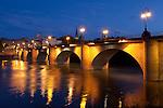 Puente de piedra, Logroño, La Rioja, Spain