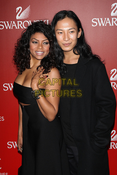 NEW YORK, NY - NOVEMBER 2: Taraji P. Henson and Alexander Wang attend the Accessories Council 2015 ACE Awards at Cipriani 42nd Street  on November 2, 2015 in New York City.  <br /> CAP/MPI99<br /> &copy;MPI99/Capital Pictures