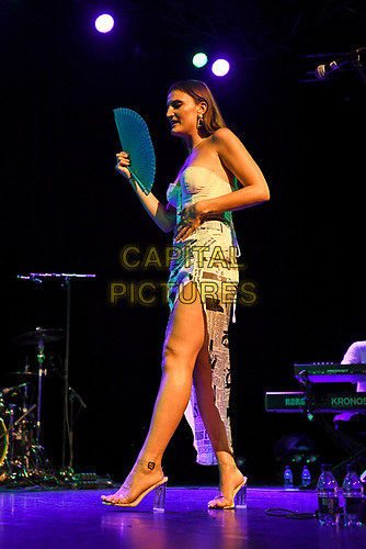 LONDON, ENGLAND - AUGUST 11: Sophie performing at Nile Rodgers' Meltdown at Purcell Room on August 11, 2019 in London, England.<br /> CAP/MAR<br /> ©MAR/Capital Pictures