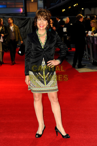 LONDON, ENGLAND, OCTOBER 17: Kathy Lette at the 'A Little Chaos' Screening during the 58th BFI London Film Festival at Odeon West End on October 17, 2014 in London, England, UK.<br /> CAP/CJ<br /> &copy;Chris Joseph/Capital Pictures