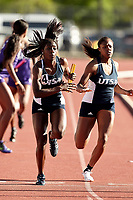 SAN ANTONIO, TX - MARCH 25, 2017: The University of Texas at San Antonio Roadrunners host the Roadrunners Invitational Track & Field Meet at the Park West Athletics Complex. (Photo by Jeff Huehn)