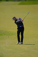 Joost Luiten (NED) on the 17th tee during Round 4 of the Betfred British Masters 2019 at Hillside Golf Club, Southport, Lancashire, England. 12/05/19<br /> <br /> Picture: Thos Caffrey / Golffile<br /> <br /> All photos usage must carry mandatory copyright credit (© Golffile | Thos Caffrey)
