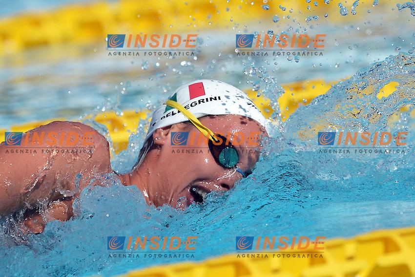 Federica Pellegrini Italia Women's 400m Freestyle.Roma 14/6/2012 Foro Italico.Nuoto Swimming 49mo trofeo settecolli.Foto Andrea Staccioli Insidefoto