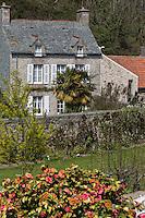 Europe/France/Normandie/Basse-Normandie/50/Manche/Cap de la Hague/Omonville-la-Rogue: Maison du village// Europe/France/Normandie/Basse-Normandie/50/Manche/Cap de la Hague/Omonville-la-Rogue: village house