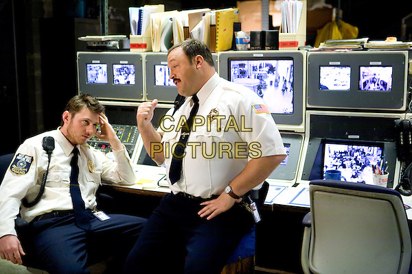 KEIR O'DONNELL & KEVIN JAMES.in Paul Blart: Mall Cop .*Filmstill - Editorial Use Only*.CAP/FB.Supplied by Capital Pictures.