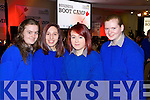 Students from Milltown Presentation Secondary School, pictured at the Young Entrepreneur Business Boot Camp in the Brandon Hotel, Tralee on Friday, from left: Cassandra Myers, Niamh Bartley, Danielle O'Sullivan and Michelle Flynn .