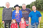 CASH COW: Having a great time at the Camp Cash Cow at the Camp Community Centre on Sunday l-r: Seamus Griffin, Bridget O'Connor, Lauren and Sarah Foley, Jack Crean and Chris Foley.