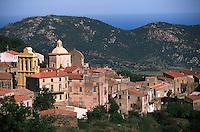 France/2B/Haute Corse/Balagne/Cateri: le village