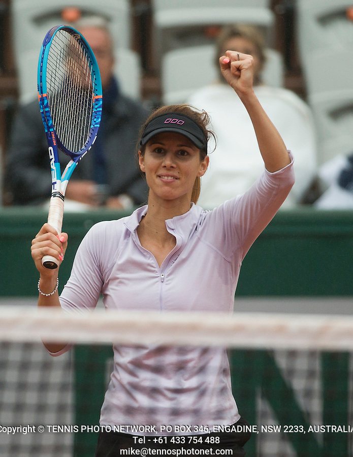 TSVETANA PIRONKOVA (BUL)<br /> <br /> TENNIS - FRENCH OPEN - ROLAND GARROS - ATP - WTA - ITF - GRAND SLAM - CHAMPIONSHIPS - PARIS - FRANCE - 2016  <br /> <br /> <br /> <br /> &copy; TENNIS PHOTO NETWORK