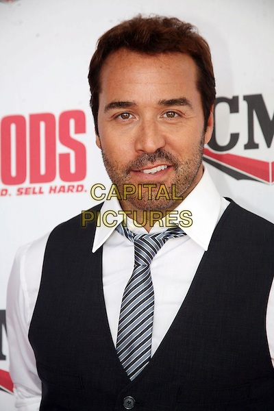 JEREMY PIVEN .'The Goods: Live Hard, Sell Hard' Nashville Premiere held at Regal 27 Theaters, Nashville, TN, USA, .13th July, 2009..portrait headshot tie white shirt waistcoat black stubble facial hair funny .CAP/ADM/RR.©Randi Radcliff/Admedia/Capital Pictures