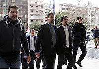 2017 01 26 Turkish men appear in Supreme Court, Athens, Greece