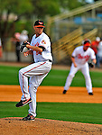 6 March 2009: Baltimore Orioles' pitcher Chris Tillman on the mound during a Spring Training game against the Washington Nationals at Fort Lauderdale Stadium in Fort Lauderdale, Florida. The Orioles defeated the Nationals 6-2 in the Grapefruit League matchup. Mandatory Photo Credit: Ed Wolfstein Photo
