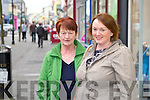 Mary McGrath and Martina McGrath from Abbeydorney<br /> Loves shopping in Tralee because its a great town centre with shops likes Byrnsworth for the personal touch.  Comes down from Galway to shop in Tralee.  Easy parking