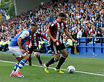 Enda Stevens of Sheffield Utd during the Championship match at the Hillsborough Stadium, Sheffield. Picture date 24th September 2017. Picture credit should read: Simon Bellis/Sportimage