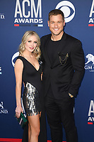 LAS VEGAS, NV - APRIL 7: Cassie Randolph and Colton Haynes attend the 54th Annual ACM Awards at the Grand Garden Arena on April 7, 2019 in Las Vegas, Nevada. <br /> CAP/MPIIS<br /> &copy;MPIIS/Capital Pictures