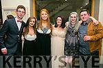 Enjoying the I.T Macra NAGS Ball at Ballyroe Hotel on Thursday were Tahdy O'Sullivan, Katie O'Sullivan, Sive Corcoran, Caitriona Lynch, Anna Kennelly and Aaron O'Mahony