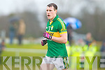 Mark Griffin  Kerry in action against   Cork IT in the semi final of the McGrath Cup at John Mitchells Grounds on Sunday.
