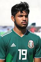 Eduardo Daniel Aguirre Lara of Mexico U21's during Mexico Under-21 vs Turkey Under-21, Tournoi Maurice Revello Football at Stade de Lattre-de-Tassigny on 6th June 2018