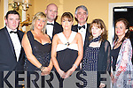 GALA: Attending the Enable Ireland Fundraising Gala Ball in association with the Bon Secoure Hospital, Tralee in Ballygarry House Hotel & Spa,Tralee on Friday night. Front l-r: Pascal Sheehy, Mandy McKenzie Vass, Siobhan Burke, Grainne Sheehan, Finaula O'Donovan Back l-r: John Joe Sheehy, Paul Garnett(general manager Bon Secour Hospital) ..   Copyright Kerry's Eye 2008