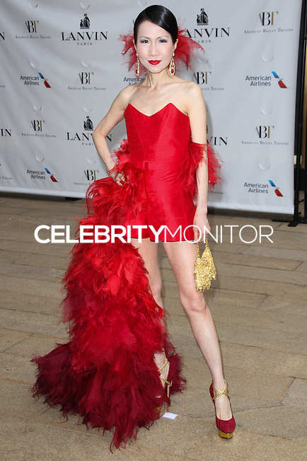 NEW YORK CITY, NY, USA - MAY 12: Chiu-Ti Jansen at the American Ballet Theatre 2014 Opening Night Spring Gala held at The Metropolitan Opera House on May 12, 2014 in New York City, New York, United States. (Photo by Celebrity Monitor)