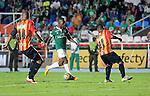 Deportivo Cali se enfrentó a las Águilas Doradas en el Pascual Guerrero, en donde empataron 2-2 en duelo de la 2ª jornada de los cuadrangulares semifinales en Colombia