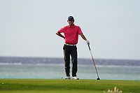 Renato Paratore (ITA) on the 17th during Round 3 of the Saudi International at the Royal Greens Golf and Country Club, King Abdullah Economic City, Saudi Arabia. 01/02/2020<br /> Picture: Golffile | Thos Caffrey<br /> <br /> <br /> All photo usage must carry mandatory copyright credit (© Golffile | Thos Caffrey)