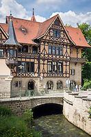 Germany; Free State of Thuringia, Meiningen: Henneberger House | Deutschland, Freistaat Thueringen, Meiningen: Henneberger Haus in der Georgstrasse