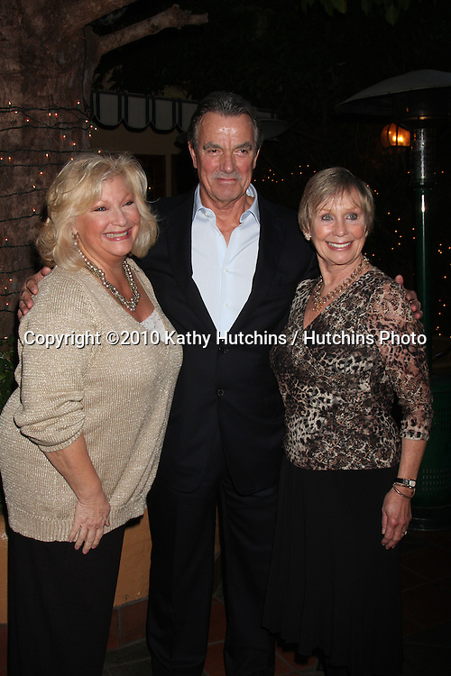 Beth Maitland, Eric Braeden & Marla Adams.at the Eric Braeden's 30th Anniversary on The Young & The Restless Cocktail Reception .Pane e Vino Resturant.Los Angeles, CA.February 3, 2010.©2010 Kathy Hutchins / Hutchins Photo..Publicist & Braeden Approved....