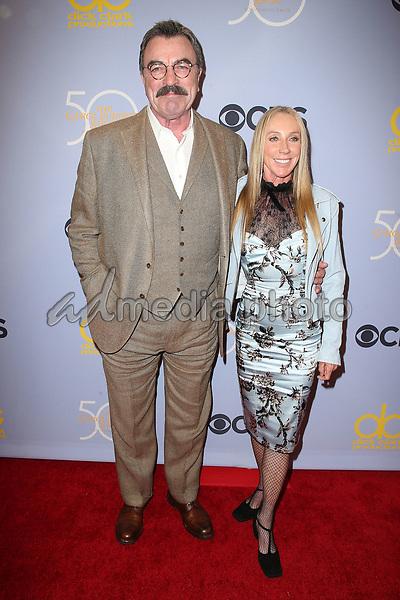 "04 October 2017 - Los Angeles, California - Tom Selleck, Jillie Mack. CBS ""The Carol Burnett Show 50th Anniversary Special"". Photo Credit: F. Sadou/AdMedia"