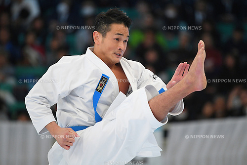 Issei Shinbaba, <br /> DECEMBER 11, 2016 - Karate : <br /> The 44th Japan Cup Karatedo <br /> Men's Kata Semi Final <br /> at Nippon Budokan, Tokyo Japan. <br /> (Photo by AFLO SPORT)