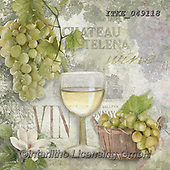 Isabella, STILL LIFE STILLEBEN, NATURALEZA MORTA, paintings+++++,ITKE049118,#i#, EVERYDAY,wine,grapes,chateau
