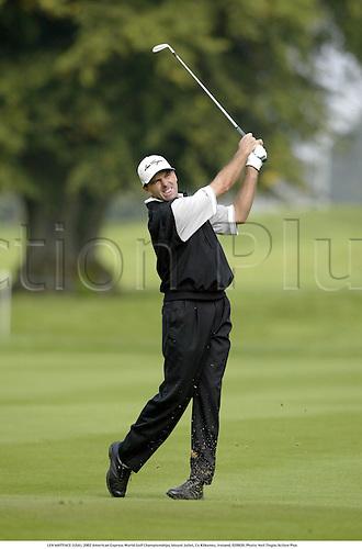 LEN MATTIACE (USA), 2002 American Express World Golf Championships, Mount Juliet, Co Kilkenny, Ireland, 020920. Photo: Neil Tingle/Action Plus...golf golfer player..............
