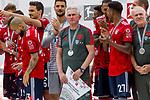12.05.2018, Allianz Arena, Muenchen, GER, 1.FBL,  FC Bayern Muenchen vs. VfB Stuttgart, im Bild Jupp Heynckes (Cheftrainer FCB) <br /> <br />  Foto &copy; nordphoto / Straubmeier