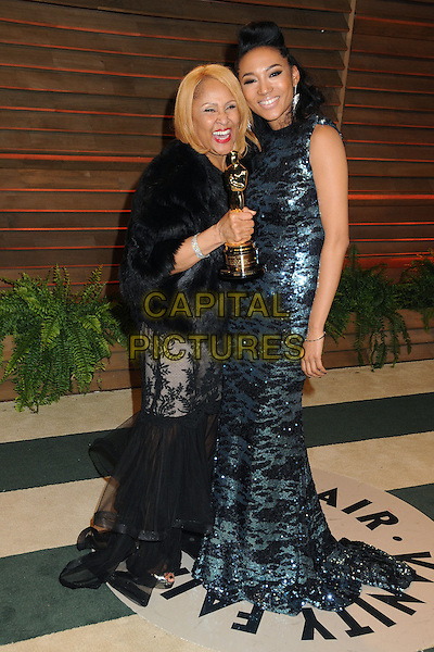 02 March 2014 - West Hollywood, California - Darlene Love, Judith Hill. 2014 Vanity Fair Oscar Party following the 86th Academy Awards held at Sunset Plaza. <br /> CAP/ADM/BP<br /> &copy;Byron Purvis/AdMedia/Capital Pictures
