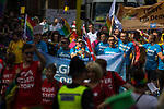 © Joel Goodman - 07973 332324 . 26/08/2017. Manchester , UK. Labour, Conservative and Liberal Democrats at the 2017 Pride parade through Manchester City Centre . The annual festival , which is the largest of its type in Europe , celebrates LGBT life . Photo credit : Joel Goodman