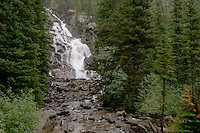 Hidden Falls, Jenny Lake, Grand Teton NP,Wyoming, USA..