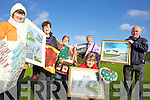 CRAFTS: Announcing details of the forthcoming craft fair in Ballylongford, l-r: Betty Enright, Deirdre O'Brien, Josephine Deenihan, Breda Barden, Kitty McElligott, Noel Lynch.