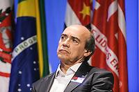 SAO PAULO, 01 DE SETEMBRO DE 2012. FORUM NACIONAL DE ESPORTES. O secretario de esportes do estado de Sao Paulo, Jose Benedito Fernandes,  durante o Forum Nacional do Esporte organizado pelo Lide, grupo de lideres empresariais,  que aconteceu no WTC, na zona sul de Sao paulo,  na manhã dete sabado. FOTO ADRIANA SPACA - BRAZIL PHOTO PRESS.