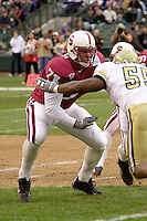 Kwame Harris during Stanford's loss to Georgia Tech in the Seattle Bowl in Seattle, WA on December 27, 2001.<br />Photo credit mandatory: Gonzalesphoto.com