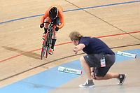 Picture by SWpix.com - 03/03/2018 - Cycling - 2018 UCI Track Cycling World Championships, Day 4 - Omnisport, Apeldoorn, Netherlands - Women's 500m Time Trial - Kyra Lamberink of The Netherlands