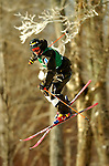 15 January 2005 - Lake Placid, New York, USA - Janne Lahtela representing Finland, competes in the FIS World Cup Men's Moguls Freestyle ski competition, ranking 4th for the day, at Whiteface Mountain, Lake Placid, NY. ..Mandatory Credit: Ed Wolfstein Photo.