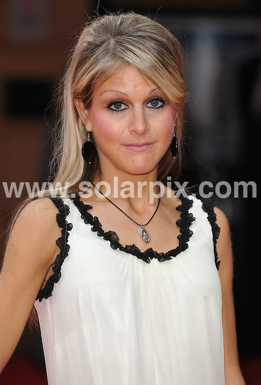 **ALL ROUND PICTURES FROM SOLARPIX.COM**.**WORLDWIDE SYNDICATION RIGHTS**.Premiere of The Ugly Truth at The Vue cinema, Leicester Square, London, UK. 4 August 2009 ..This pic: Nikki Grahame..JOB REF: 9698 SSD     DATE: 04_08_2009.**MUST CREDIT SOLARPIX.COM OR DOUBLE FEE WILL BE CHARGED**.**MUST NOTIFY SOLARPIX OF ONLINE USAGE**.**CALL US ON: +34 952 811 768 or LOW RATE FROM UK 0844 617 7637**