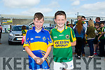 l-r Tristan O'Brien ,Glenflesk and Sean Guerin, Glenflesk at Kerry GAA family day at Fitzgerald Stadium  on Sunday