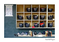 the dugout of the red sox moments before the first pitch against the tigers in detroit thursday, may 5, 2005.