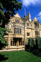 historical Oxford University in England