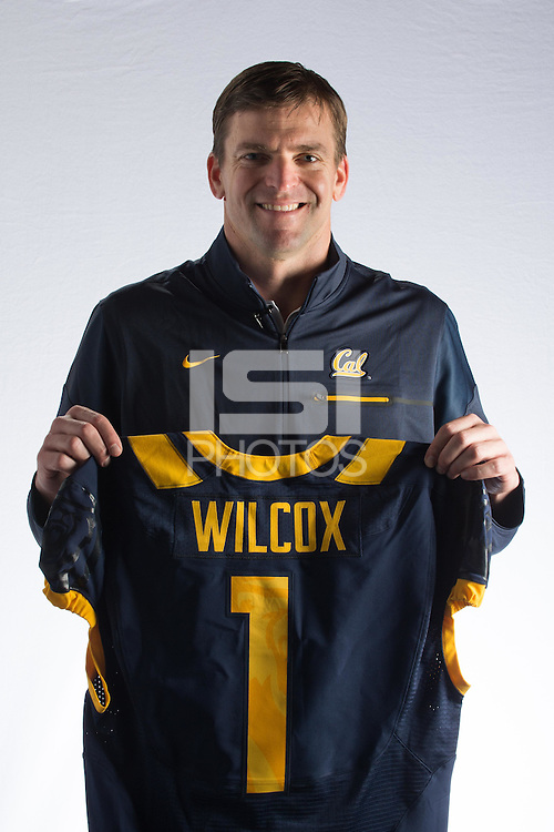 Berkeley, CA - January 17, 2016: Justin Wilcox is announced as the University of California, Berkeley head football coach on Tuesday, January 17, 2016.