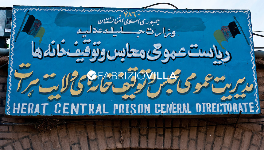 Herat, Afghanistan. Il carcere maschile.